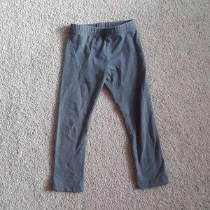 Girls old navy grey leggings size 4T
